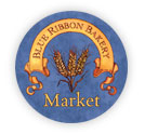 Blue Ribbon Bakery Market Logo