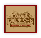 Blue Ribbon Downing Street Bar Logo