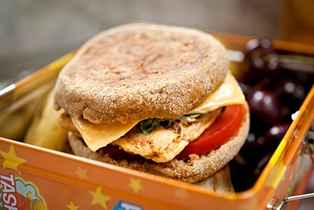 Recipe - Simple Slider Lunch Box Club